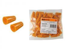 Зажим соединительный изолирующий СИЗ-3 5,5 мм2 оранжевый (50 шт) TDM -220i380.by